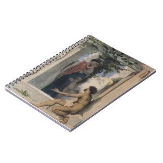 Caridad romana de Peter Paul Rubens- Libretas Espirales