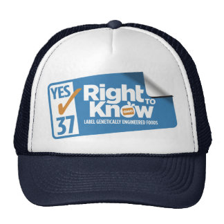 CARightToKnow Hat