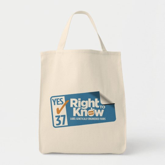 CARightToKnow shopping bag