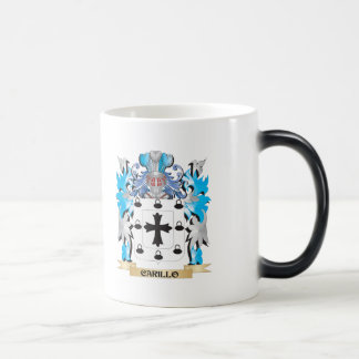 Carillo Coat of Arms - Family Crest 11 Oz Magic Heat Color-Changing Coffee Mug