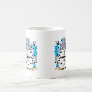 Carillo Coat of Arms - Family Crest Classic White Coffee Mug