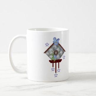 Carillón de viento de la viola taza de café