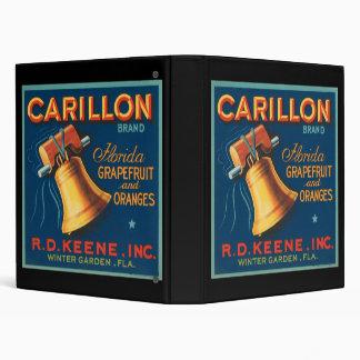 Carillon Florida Grapefruit and Oranges 3 Ring Binder