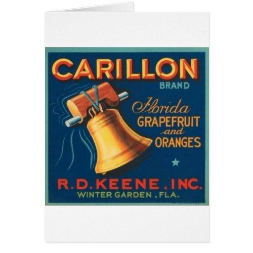 Carillon Greeting Card