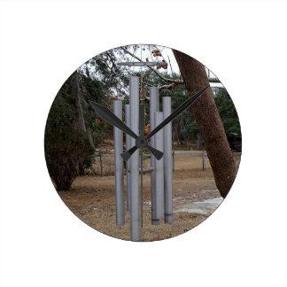 Carillones de viento del metal reloj redondo mediano