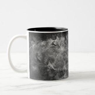 Carina - blanco y negro taza de dos tonos