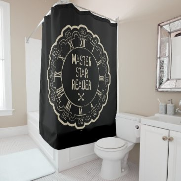 Disney Themed Carina - Master Star Reader Shower Curtain