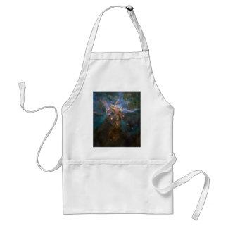Carina Nebula 20 Years of Hubble Adult Apron