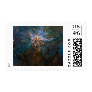 Carina Nebula 20 Years of Hubble Postage Stamp