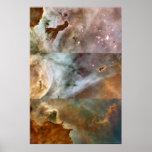 Carina Nebula 3-Composite Details 20x30 (18x27) Poster