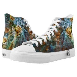 Carina Nebula Alter, Planets Collide Hightop ZIPZ High-Top Sneakers
