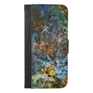 Carina Nebula Alter, Planets Collide iPhone 6/6s Plus Wallet Case