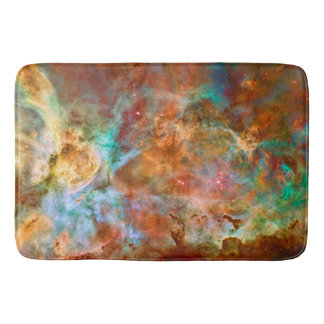 Carina Nebula, Amazing Hubble space picture Bath Mat
