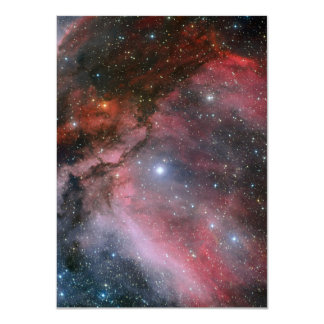 Carina Nebula around the Wolf Rayet star WR 22 Card
