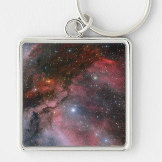 Carina Nebula around the Wolf Rayet star WR 22 Keychain