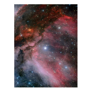 Carina Nebula around the Wolf Rayet star WR 22 Postcard