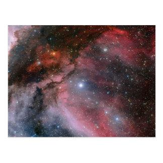 Carina Nebula around the Wolf–Rayet star WR 22 Post Cards