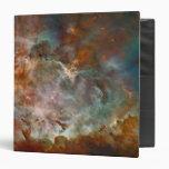 Carina Nebula Avery Binder