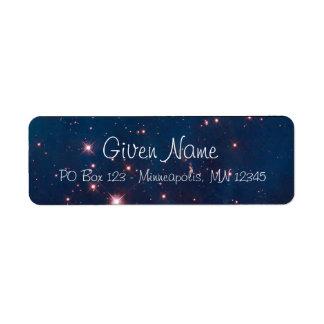 Carina Nebula Avery Label