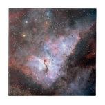Carina Nebula by ESO Ceramic Tile