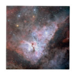 """Carina Nebula by ESO Tile<br><div class=""""desc"""">Colour-composite image of the Carina Nebula, revealing exquisite details in the stars and dust of the region. The Carina Nebula (also known as the Great Nebula in Carina, the Eta Carinae Nebula, NGC 3372, as well as the Grand Nebula) is a large bright nebula that has within its boundaries several...</div>"""