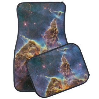 Carina Nebula by the Hubble Space Telescope Car Floor Mat