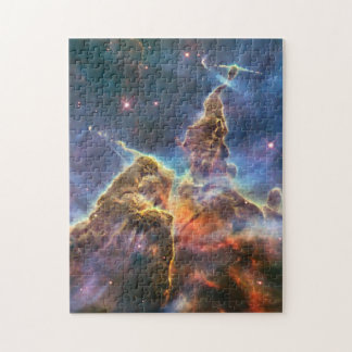Carina Nebula by the Hubble Space Telescope Jigsaw Puzzle