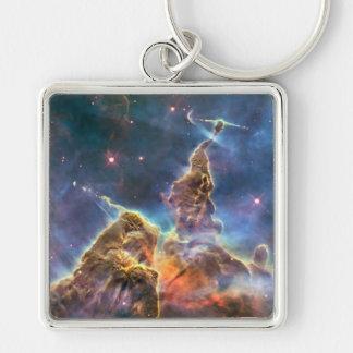 Carina Nebula by the Hubble Space Telescope Keychain