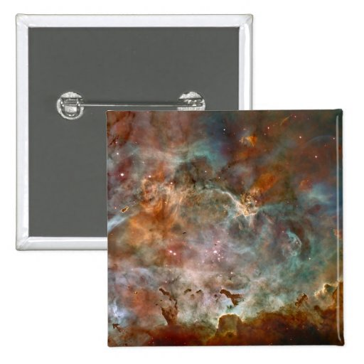 Carina Nebula Dark Clouds Pinback Buttons