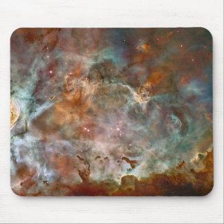 Carina Nebula Dark Clouds Mouse Pad