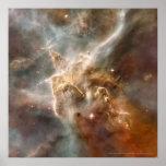 Carina Nebula Detail 12x12 (10x10) Poster