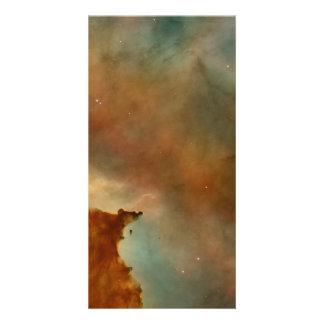 Carina Nebula Detail Personalized Photo Card