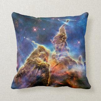 Carina Nebula Detail Throw Pillows