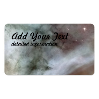 Carina Nebula Details The Caterpillar Double-Sided Standard Business Cards (Pack Of 100)