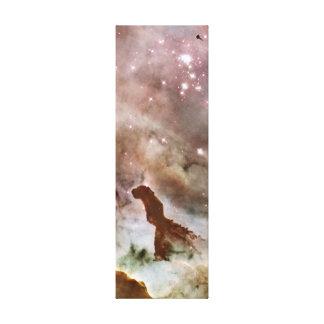 Carina Nebula Dust Pillar Stretched Canvas Prints