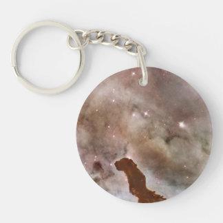 Carina Nebula Dust Pillar Keychain