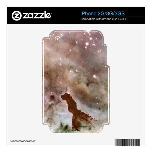 Carina Nebula Dust Pillar Skins For The iPhone 3