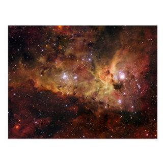 Carina Nebula Eta Carinae Postcard
