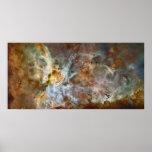 Carina Nebula Extreme 78x38 (99x48) Posters