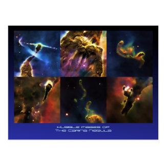 Carina Nebula feature close-ups Postcards