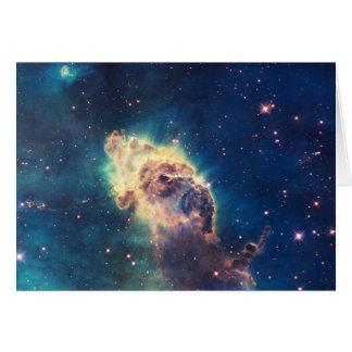 Carina Nebula from Hubble's Wide Field Camera Card