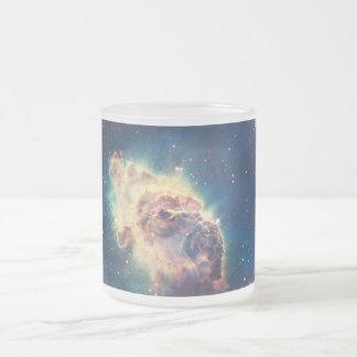 Carina Nebula from Hubble's Wide Field Camera Frosted Glass Coffee Mug