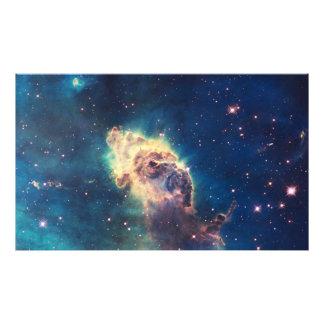 Carina Nebula from Hubble's Wide Field Camera Photo Print