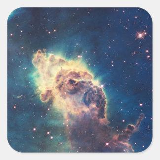 Carina Nebula from Hubble's Wide Field Camera Square Sticker