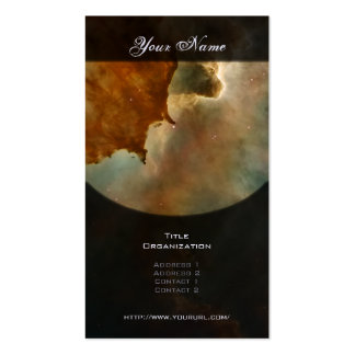 Carina Nebula: Great Clouds Double-Sided Standard Business Cards (Pack Of 100)