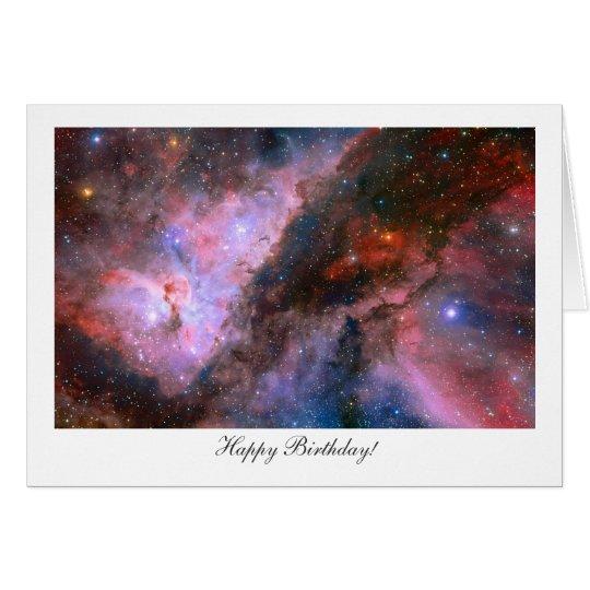 Carina Nebula - Happy Birthday Card