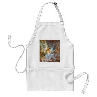 Carina Nebula Hubble 17th Anniversary Image Adult Apron
