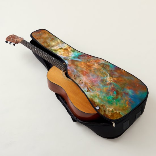 Carina Nebula, Hubble astronomy space picture Guitar Case