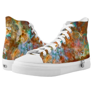 Carina Nebula, Hubble outer space picture High-Top Sneakers
