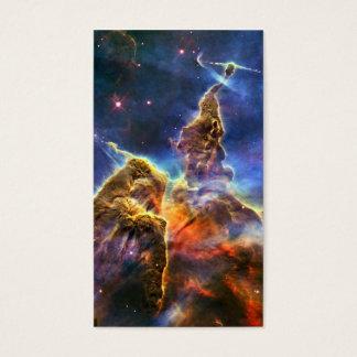 Carina Nebula Hubble Space Business Card